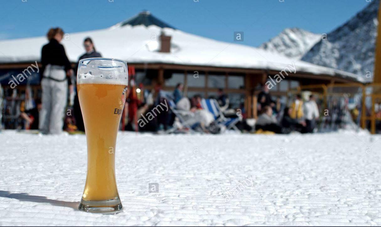 La Minute Blonde Après Ski